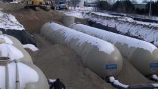 Stormwater water tanks storage green run-off