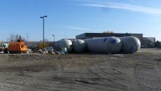 Stormwater water tanks storage green run-off