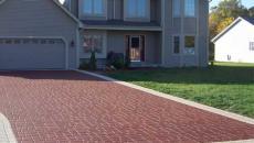 StreetPrint stamped asphalt brick pattern decorative driveway