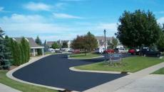 Asphalt Maintenance striping sealcoating crackfilling parking lot driveway patching