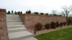 concrete patio walkway pad