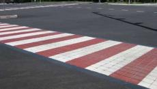 StreetPrint Traffic Patterns XD thermoplastic stamped asphalt