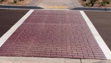 StreetPrint Traffic Patterns XD thermoplastic stamped asphalt
